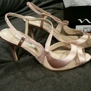 Nina New York blush high heels